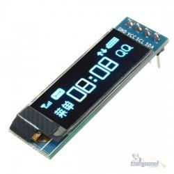 Display OLED 0.91″ 128×32 I2C Azul